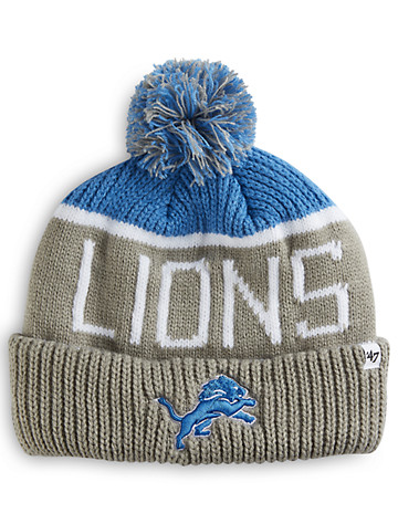 """<p>Cold games call for cold-weather gear! Protect your head and ears in this knit hat featuring some of the NFL's top teams.</p><p>&#8226; 100% acrylic<br/>&#8226; Embroidered front<br/>&#8226; Ribbed-knit cuff<br/>&#8226; Pom-pom<br/>&#8226; Woven knit back<br/>&#8226; Fits up to size 4XL or stretches up to 26""""<br/>&#8226; Machine wash; imported</p>"""