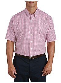 Brooks Brothers Non-Iron Gingham Broadcloth Sport Shirt