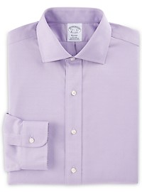 Brooks Brothers Non-Iron Dobby Dot Sport Shirt