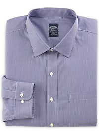 Brooks Brothers Non-Iron Stretch Gingham Dress Shirt