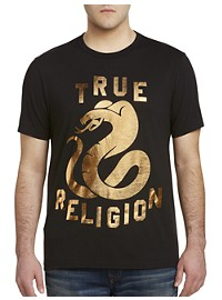 True Religion Metallic Cobra Tee