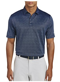 Callaway Space-Dye Jacquard Polo Shirt