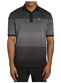Callaway Space Dyed Opti-Dri Stripe Polo Shirt