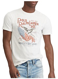 Polo Ralph Lauren Classic Fit USA Flag Graphic Tee