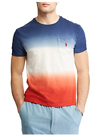 Polo Ralph Lauren Classic Fit USA Dip-Dye Tee