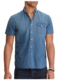 Polo Ralph Lauren Mini Star Print Sport Shirt