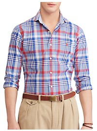 Polo Ralph Lauren Classic Fit Plaid Sport Shirt