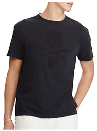 Polo Ralph Lauren Skull And Bones Graphic Tee