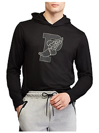 Polo Ralph Lauren Long-Sleeve Hooded Graphic Tee