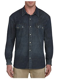 Lucky Brand Western Denim Shirt