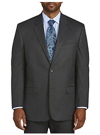 Geoffrey Beene Mini Tonal Check Suit Jacket