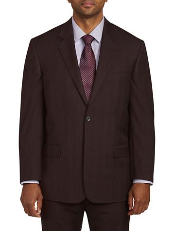 Big & Tall Geoffrey Beene Tonal Plaid Suit Jacket
