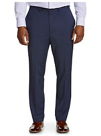 Geoffrey Beene Mini Windowpane Suit Pants