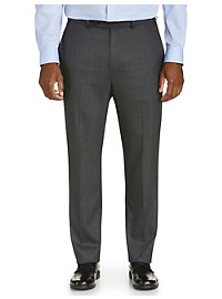 Geoffrey Beene Mini Tonal Check Suit Pants