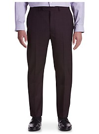Geoffrey Beene Tonal Plaid Suit Pants