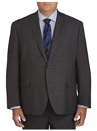 Michael Kors Windowpane Suit Jacket