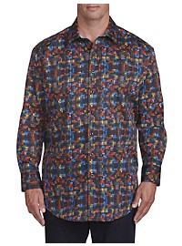 Robert Graham DXL Circle Print Sport Shirt