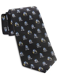 Star Wars R2D2 Patterned Tie