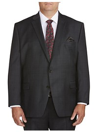 Ralph by Ralph Lauren Tonal Windowpane Suit Jacket