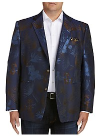 Tallia Orange Large Floral Sport Coat