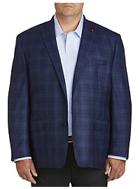 TailoRED Windowpane Sport Coat