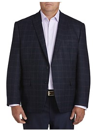 Michael Kors Large Plaid Sport Coat