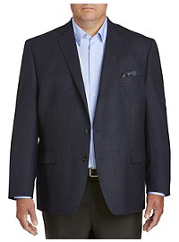 Ralph by Ralph Lauren Comfort Flex Mini Check Sport Coat - Executive Cut