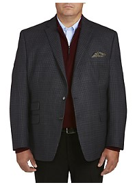Ralph by Ralph Lauren Small Check Sport Coat - Executive Cut