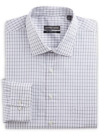 Geoffrey Beene Windowpane Dress Shirt