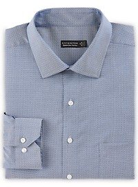 Rochester Slate Print Dress Shirt