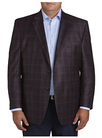 Jack Victor Large Plaid Sport Coat