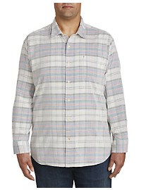 Tommy Bahama Becket Bay Plaid Corduroy Sport Shirt