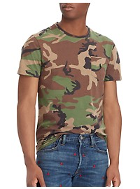 Polo Ralph Lauren Camo Pocket T-Shirt