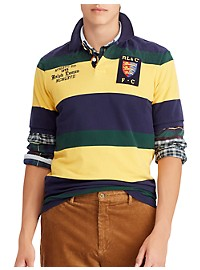 Polo Ralph Lauren Classic Fit Lion Mesh Polo Shirt