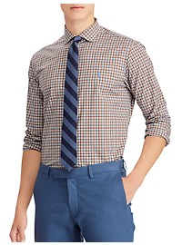Polo Ralph Lauren Long-Sleeve Stretch Plaid Sport Shirt