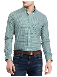 Polo Ralph Lauren Gingham Stretch Sport Shirt