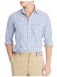 Polo Ralph Lauren Classic Fit Plaid Oxford Shirt