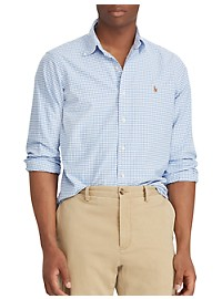 Polo Ralph Lauren Classic Fit Gingham Oxford Sport Shirt