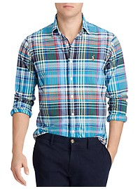 Polo Ralph Lauren Classic Fit Madras Oxford Sport Shirt