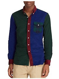 Polo Ralph Lauren Classic Fit Corduroy Fun Shirt