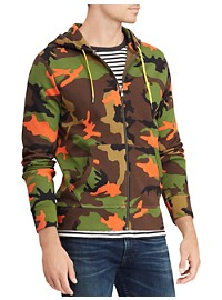 Polo Ralph Lauren Camo Double-Knit Tech Hoodie