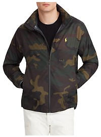 Polo Ralph Lauren Camo Waterproof Jacket