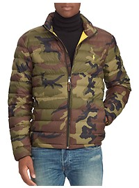 Polo Ralph Lauren Camo Packable Down Coat
