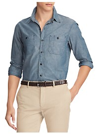 Polo Ralph Lauren Classic Fit Chambray Workshirt