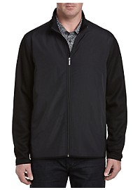 Perry Ellis Fleece Full-Zip Jacket