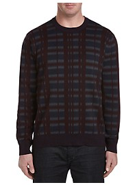Perry Ellis Pattern Crewneck Sweater