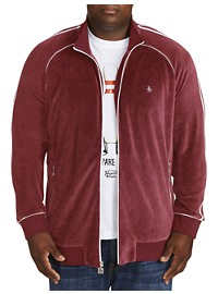 "Original Penguin ""The Earl"" Velour Track Jacket"