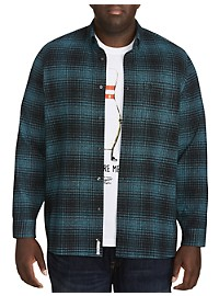 Original Penguin Tonal Twisted Flannel Shirt