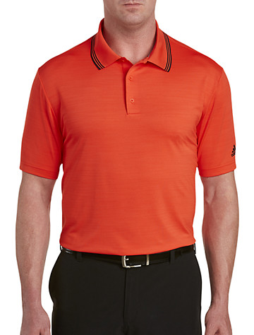 Big & Tall adidas Golf Tonal Stripe Polo