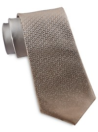 Michael Kors Allover Logo Gradient Silk Tie